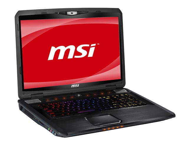 Servis notebooků MSI Most